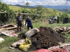 Training on organic fertilizer production