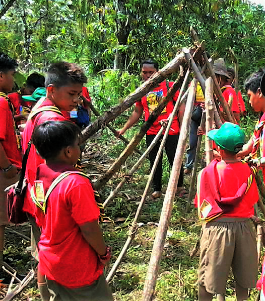 All-Weather Tents for Filipino Scouts Training