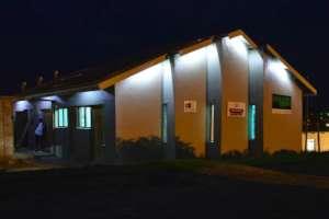 Change a Life Nemato Centre at night