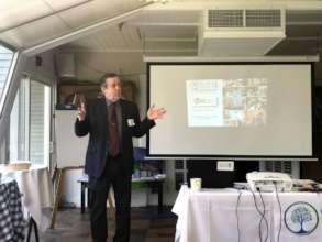 Jeff Benay presents on CRC