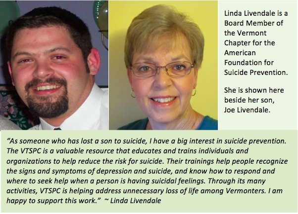 Umatter and the Vermont Suicide Prevention Center