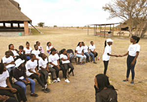 Ambassadors train girls in reproductive health