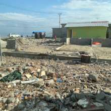 After 1 year, Palu is still in reconstruction.