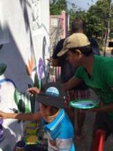 Our students painting