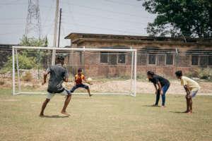 The soccer tournament was good fun