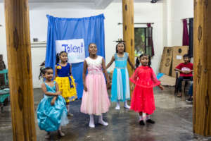 A dance number from some of our younger ones.