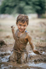 Nothing like a little mud