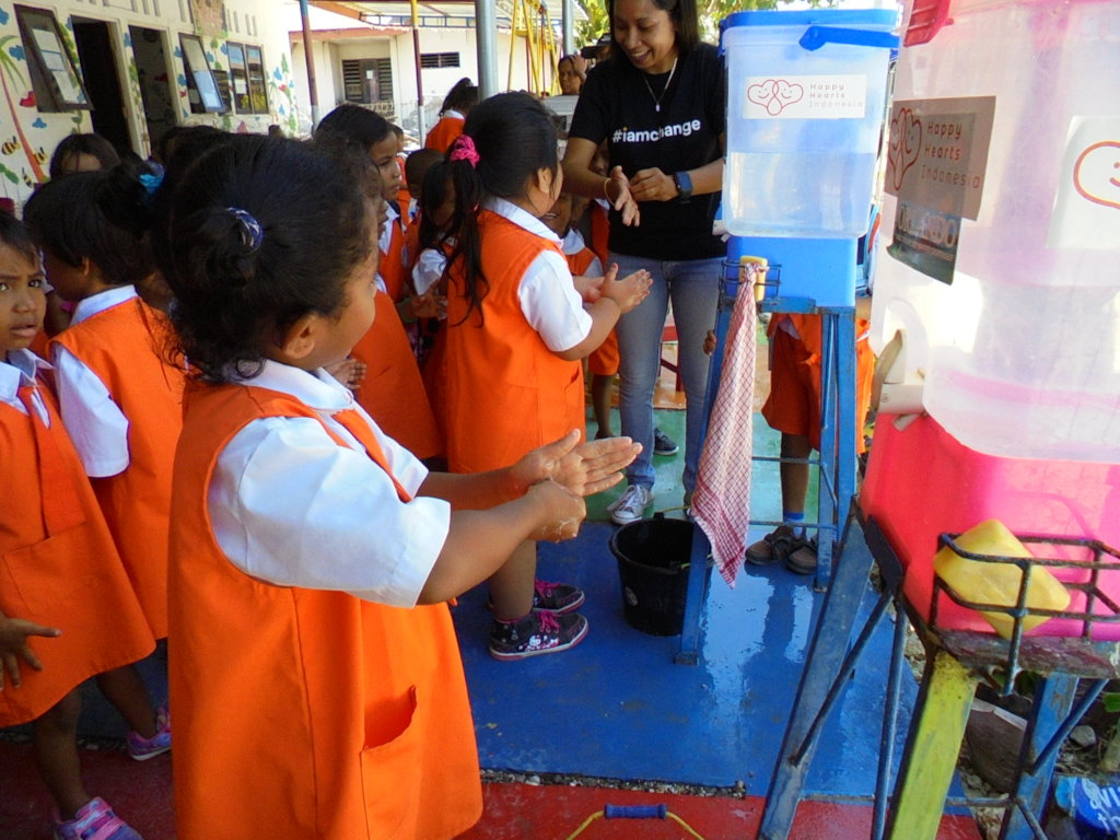 Build Safe School For Children In East Indonesia
