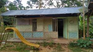 School in Sumba before rebuilding