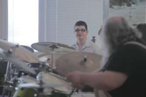 Jam session at the school