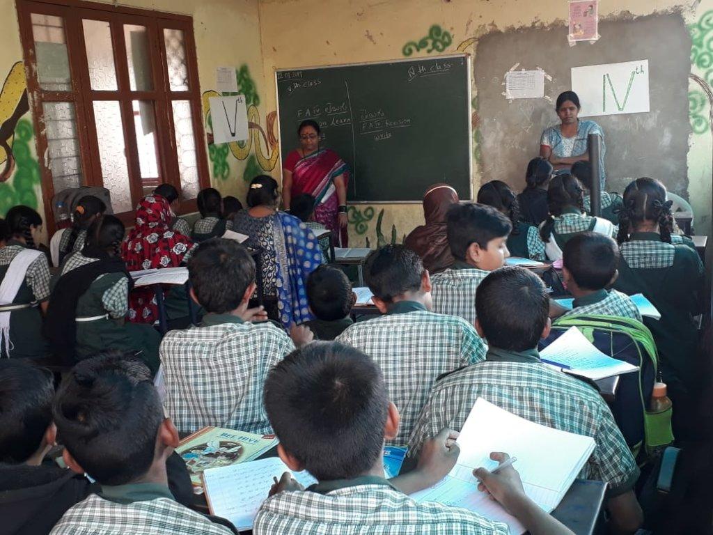 School Building for Neglected Children