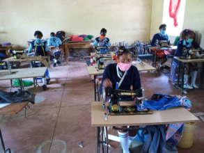 Seed of Hope Kitui Fashion Design class open again
