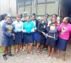 Seed of Hope class during World Menstruation Day