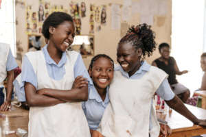 Hair and Beauty students - Seed of Hope Kitui