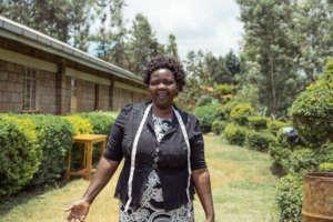 Margaret - Dressmaking teacher at Kariti