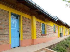 Freshly painted Seed of Hope Kitui