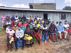 New students at Seed of Hope Nairobi
