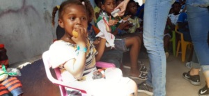 Children Having a Snack During Our Programs