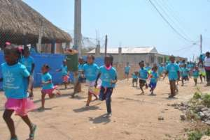 Running to the Finish Line for Tierra Bomba