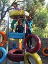 Playground at the after school program