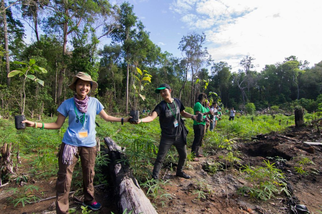Plant Trees to Restore PreyLang Wildlife Sanctuary