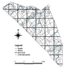Pilot Study - Camera Trap Points