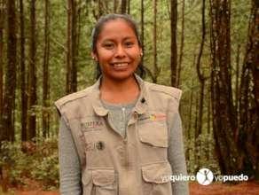 Martha Porfirio, one of our local program staff