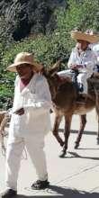 Inaugurating the Native Languages parade, Guerrero