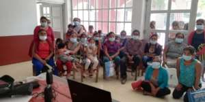 1st educational session in San Juan Huexoapa