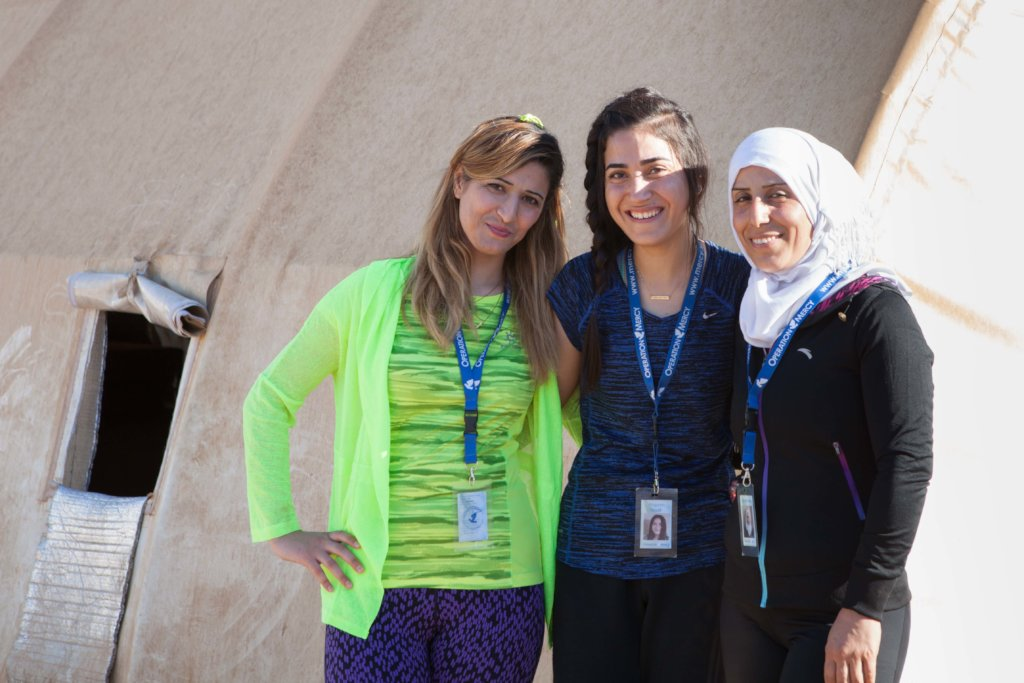 Refugee Women's Fitness 2019-2020