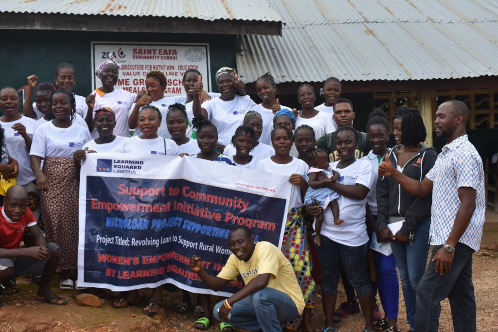 REVOLVING LOAN TO EMPOWER RURAL WOMEN IN LIBERIA