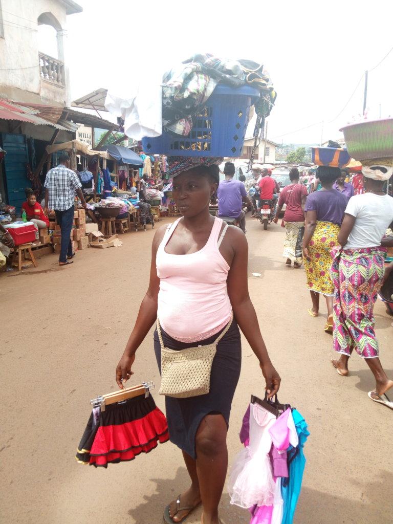 Job training for 100 girls in Sierra Leone slums