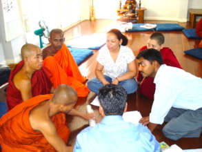 Young Boddhisattva Training - Group Discussion
