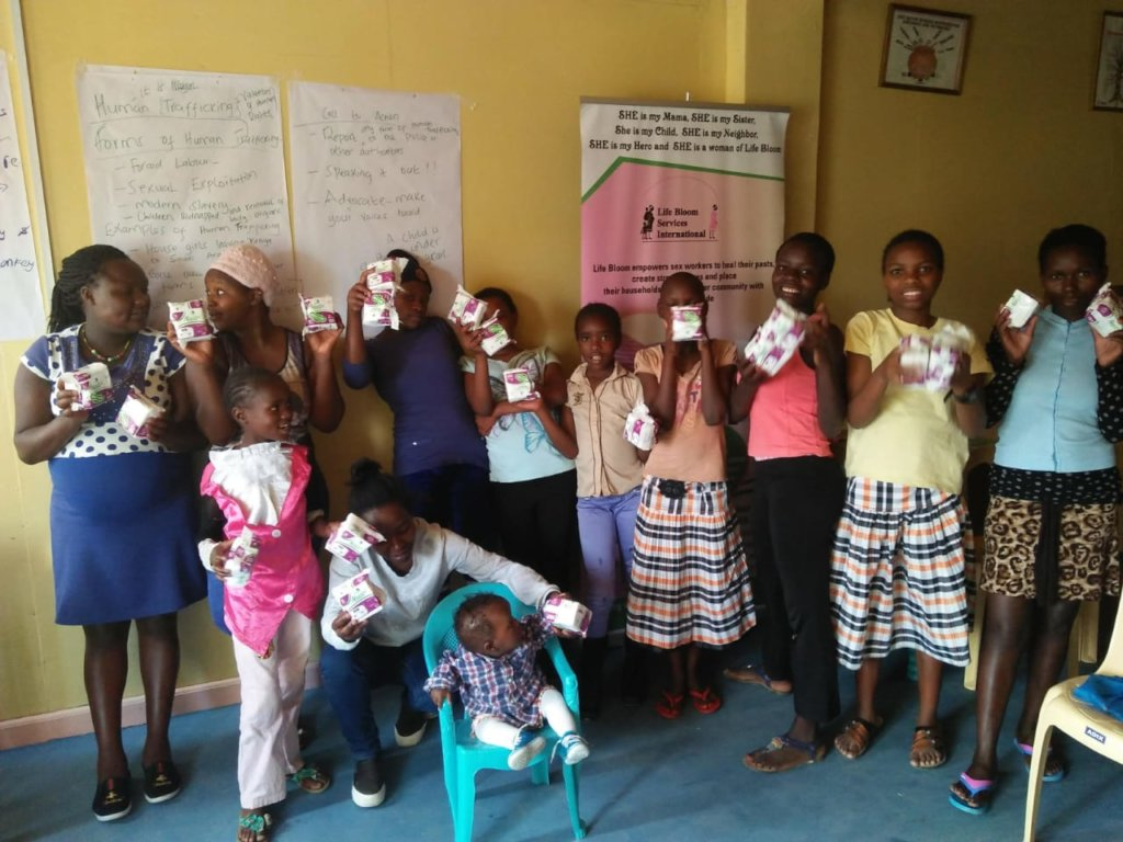 Gift a non-schooling Girl with Sanitary Napkins!
