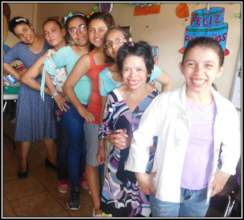 Some of the daughters in affirmation groups