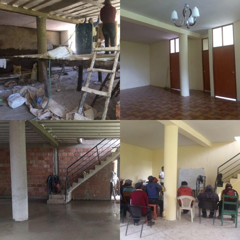 Developing EcoHuella Farmer Education Center