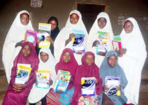 Students Supported with books