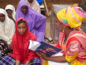 Build the Agency of 150 Adolescent Girls and Women