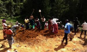 Rushaga women showing leadership in the community