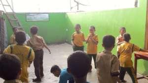 Tunas Karya Elementary Students