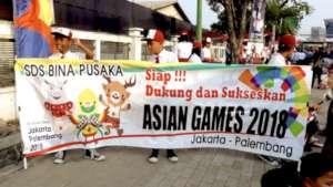 Bina Pusaka participating in ASEAN games