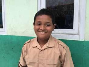 Smiling Fadhil