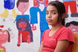 Mural with Mayama girl