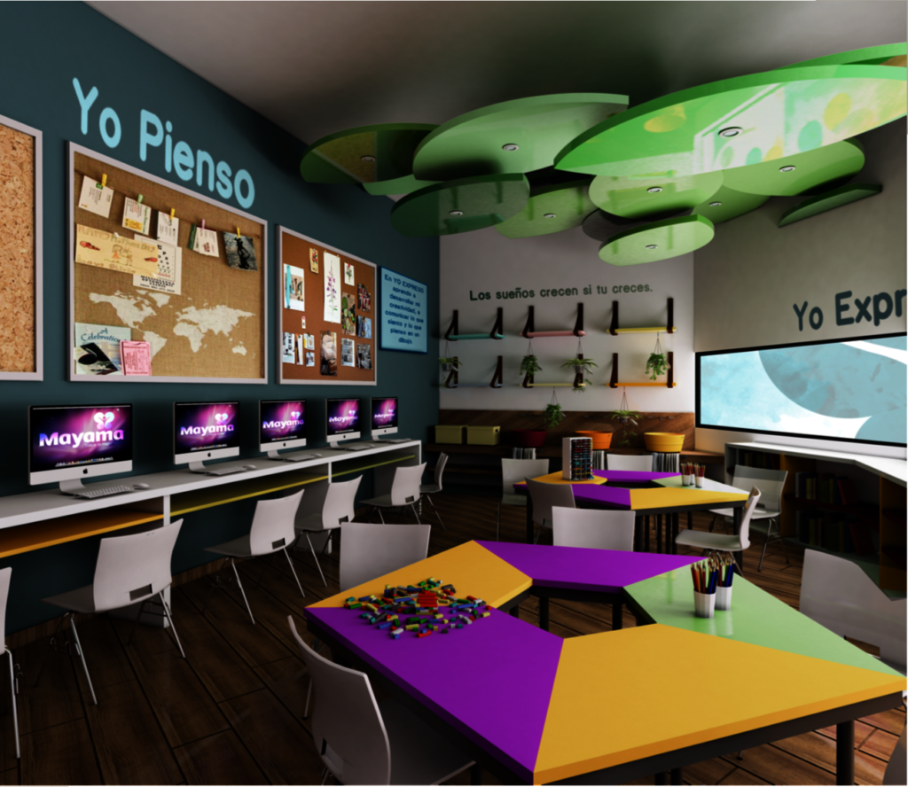 NEW Learning Center for children in poverty Mexico