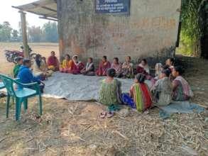 Home visit to Baksa villages