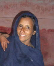 One of the women community workers