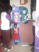 Nutritional status assessments of all children