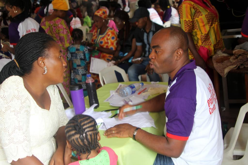 ATP Community Medical Outreaches for Nigerian Kids