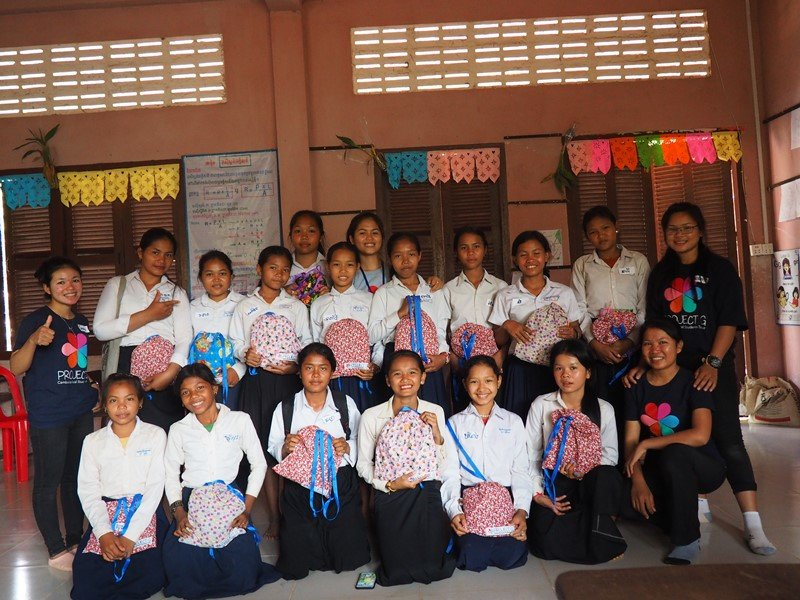 Empower Cambodian Girls with Hygiene and Education
