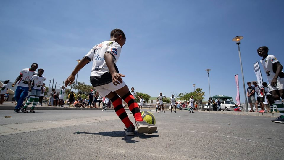 Sports Program for Vulnerable Youth in Cape Town